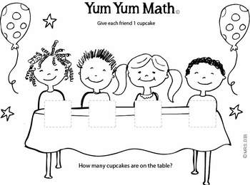 Yum Yum Math #1 ** ORIGINAL ARTWORK