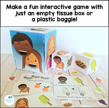 Yum Yum Pronouns Interactive Game - He, She, They - Preschool and Up