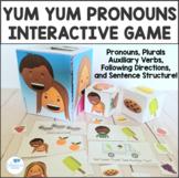 Yum Yum Pronouns Interactive Game - He, She, They - Preschool Speech Therapy