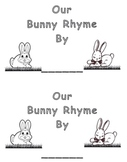 Bunnies! - A Rhyming Emergent Reader for Spring