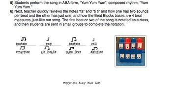 Yum Yum Yum! Halloween composition with Beat Blocks!