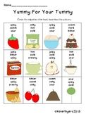 Yummy Adjectives