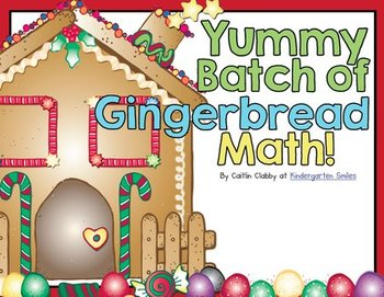 Gingerbread Man Literacy and Math COMBO Pack