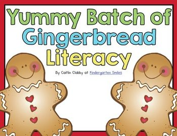 Gingerbread Man Literacy Centers