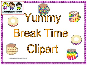 Yummy Break Time Clipart