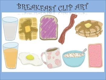 Yummy Breakfast Clip Art