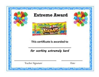 candy bar award templates just bcause