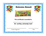Yummy Candy Bar Awards