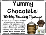 Yummy Chocolate! - Weekly Reading Passage and Questions