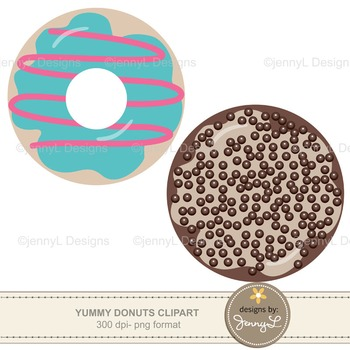 Yummy Donuts Cliparts