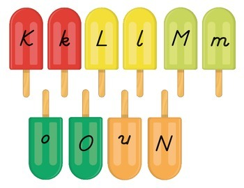 Yummy Letter Matching- Upper to Lowercase