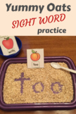 Sight Words - Yummy Oats!
