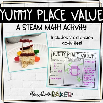 Yummy Place Value - a STEM activity
