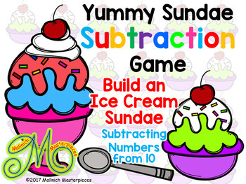 Yummy Sundae - Addition and Subtraction - Math Interactive PowerPoints