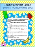 Delicious Tropical Smoothie Breakfast Bowl Recipe