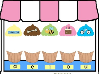 Yummy Vowels Flipchart - Long Vowel Sounds