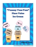 """Yummy Yum-Yum"" Place Value Ice Cream"