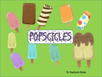 Yummy popscicles  Clip Art