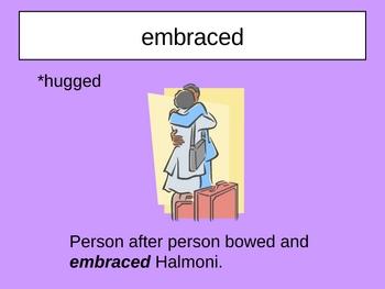 Yunmi and Halmoni's Trip Vocabulary Houghton Mifflin Series