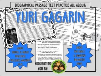 Yuri Gagarin-Biographical Passage Practice