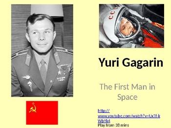 Yuri Gagarin - First Man in Space