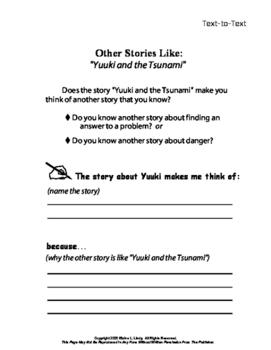 Yuuki and the Tsunami Short Story Folk Tale Unit