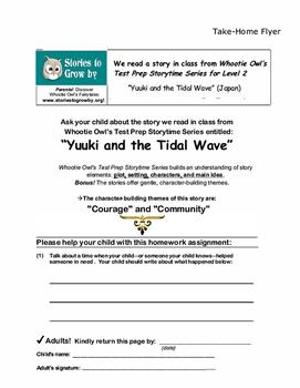 Yuuki and the Tsunami Teacher's Resource Guide Folk Tale Unit