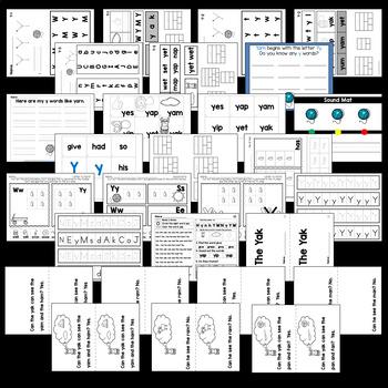 Letter Yy {Print & Play}