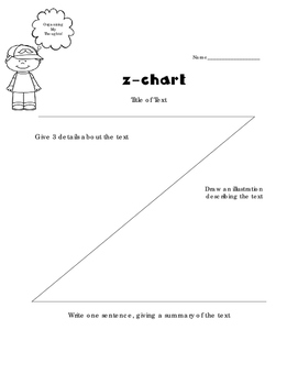 Z-Chart Graphic Organizer