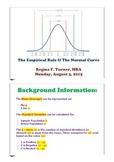 Z-Scores, Standard Deviation, Empirical Rule: PDF