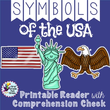 Differentiated American Symbols Printable Readers