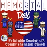 Memorial Day Activities Differentiated Readers