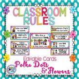 Classroom Decor Classroom Rules Polka Dot Classroom Theme