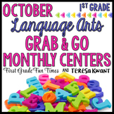 Fall Activities Literacy Centers October Grab & Go
