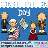 Constitution Day Printable Reader with Comprehension