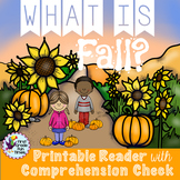 Fall Activities Differentiated Printable Readers