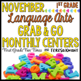 Thanksgiving Activities Literacy Centers