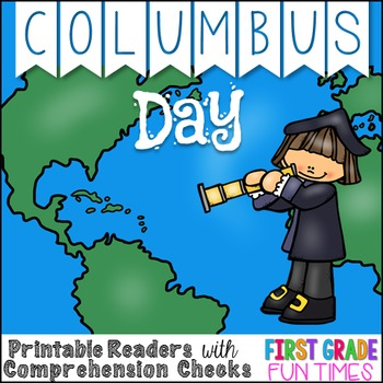 Columbus Day Differentiated Printable Readers