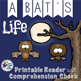 Bats Fall Activities Differentiated Readers and Comprehension