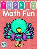 Thanksgiving Math Addition and Subtraction I Spy