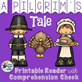 Thanksgiving Activities Pilgrim's Tale Differentiated Prin
