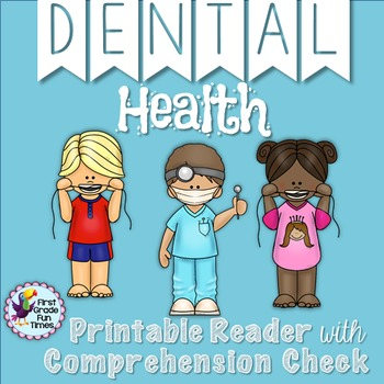 Dental Health Month Differentiated Readers