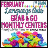 February Literacy Centers