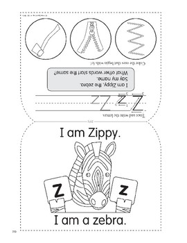 Z: Zippy, the Zebra
