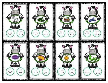 Z is for Zebra Activity Pack Alphabet Common Core Preschool Toddler