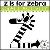 Letter Z Craft {Zebra}