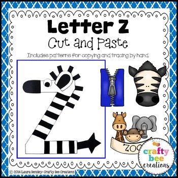 Letter Z Craft {Zebra}