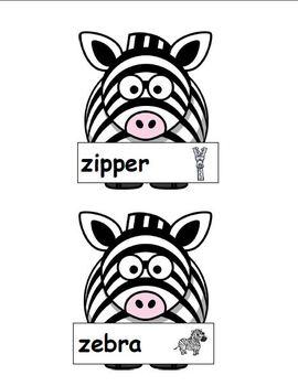 Z is for Zebra (Letter Z Unit)