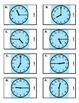 ZABINGA Game Telling Time to the Hour, Half Hour & Quarter