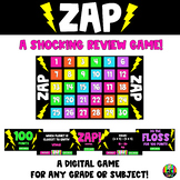 ZAP: A Shocking Review Game!